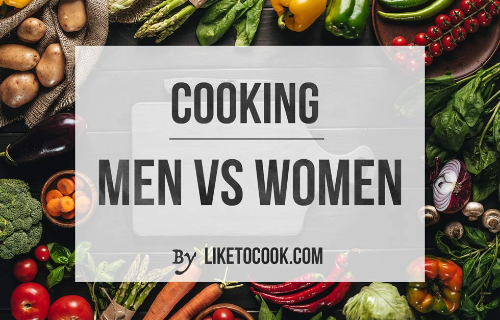 Cooking : men vs women