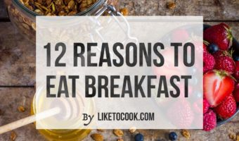 12 Reasons to Eat Breakfast at home